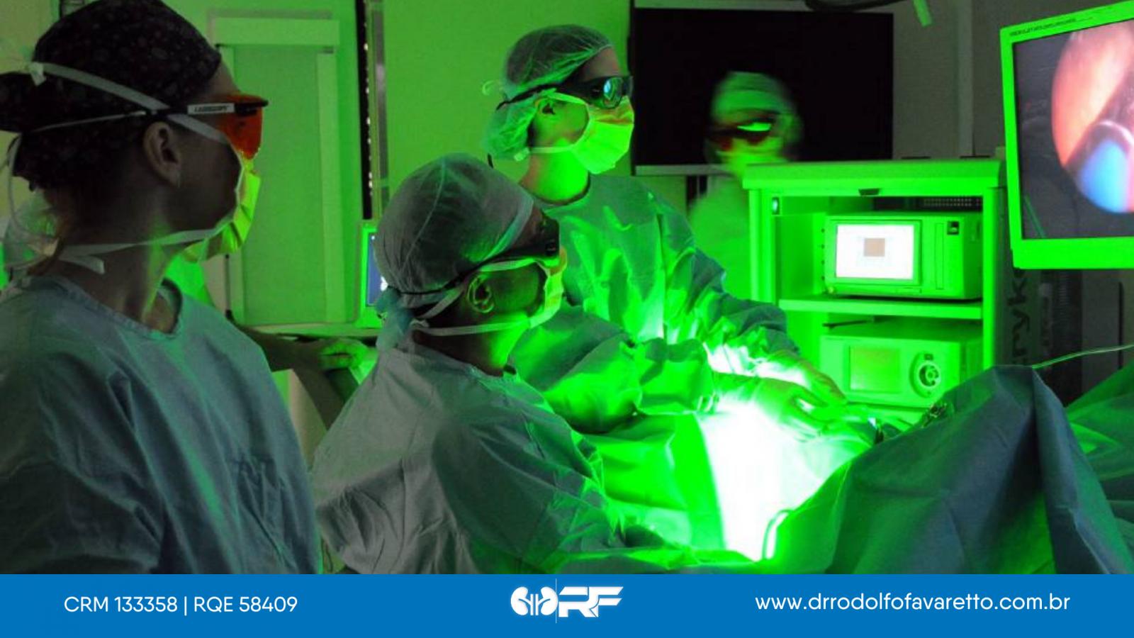 Tratamento cirúrgico para HPB - eletrovaporização da próstata (Greenlight)